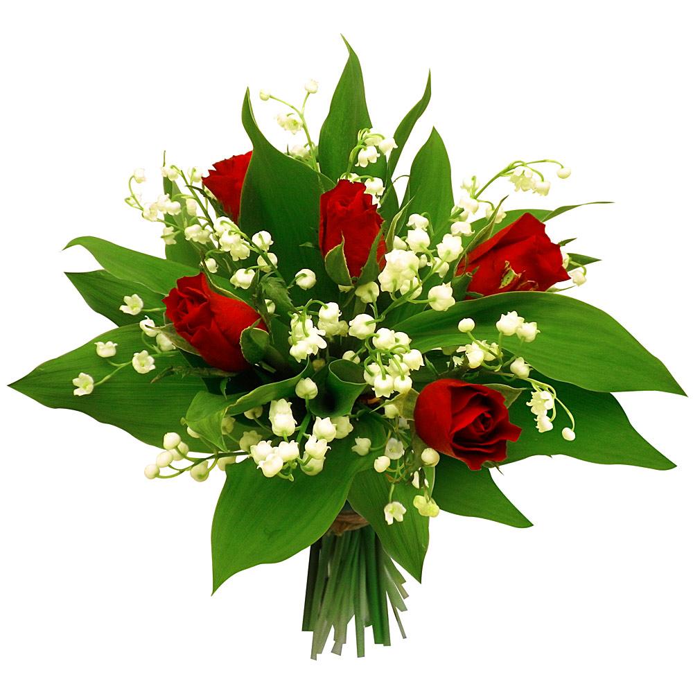 Le premier mai le jour du muguet parlons en for Bouquet de fleurs muguet